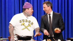 What we learned about burger-making from Matty Matheson's <em>Late Night with Seth Meyers</em> segment