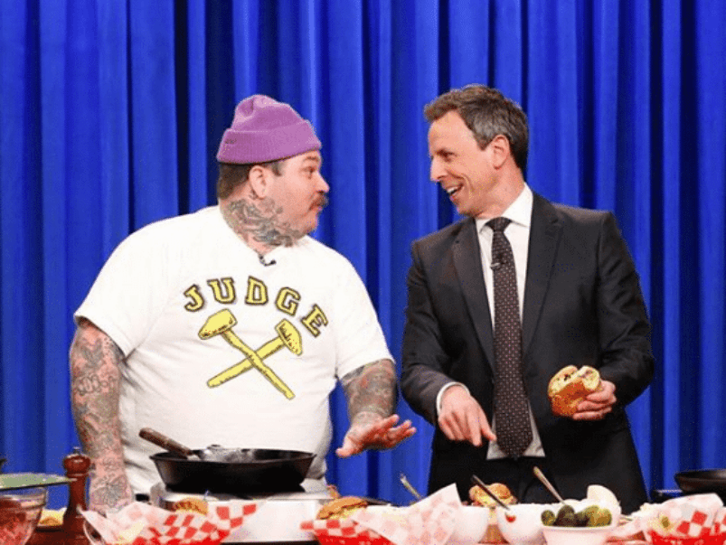 What we learned about burger-making from Matty Matheson&#8217;s <em>Late Night with Seth Meyers</em> segment