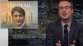 John Oliver ripped into Justin Trudeau last night