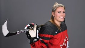 Q&A: Natalie Spooner, the Olympic hockey player who's determined to extend Canada's winning streak
