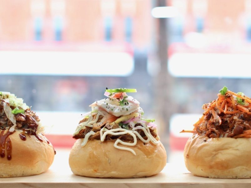 What's on the menu at Hot Bunzz, a Queen West counter dedicated to stuffed buns