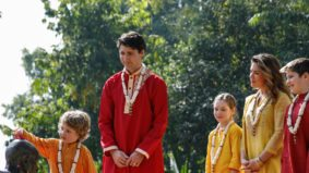 People aren't thrilled with Justin Trudeau's Indian wardrobe