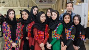 These teenage girls came from Afghanistan to build robots in Canada