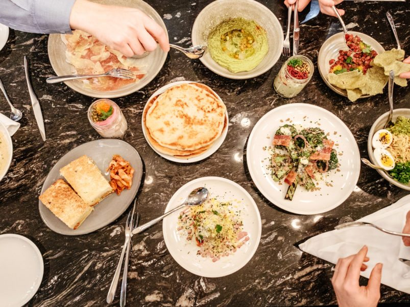 What's on the menu at Momofuku's pop-up at Pusateri's in the Saks Food Hall