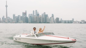 Real Weddings: Inside a gorgeous, laid-back ceremony on the Toronto Islands