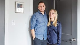 How a couple did their own home renovation and got married in the same year