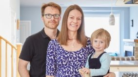 How a new dad transformed his bungalow into a two-storey family home