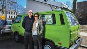 They sold their Roncey home, invested the profits and hit the road