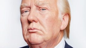 This Toronto artist takes uncanny, unsettling portraits of celebrity wax figures