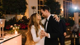 Real Weddings: Inside coffee wizard Sam James's glam wintry bash at Casa Loma