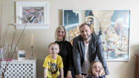 Inside Power Ball co-chair Gareth Brown-Jowett's quirky personal art collection