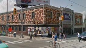 Dundas West's infamous Giraffe building has a new owner