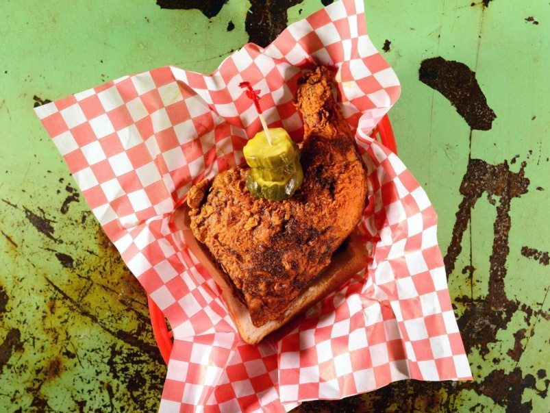 Here's the word on the very spicy bird at Five Points Hot Chicken