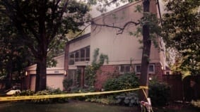A family was systematically slaughtered in this house—by a very angry ex