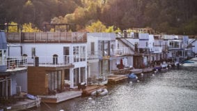 Inside Scarborough's hidden community of floating homes