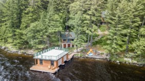 Cottage of the Week: $2.2 million for a spacious log cabin near Huntsville