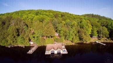 Cottage of the Week: $2.5 million for a Lake of Bays cottage with a killer boathouse