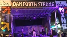 Some photos from an emotional Taste of the Danforth