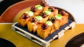 How Madrina makes a mille feuille twist on a classic tapas snack