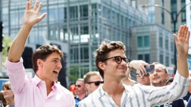 Justin Trudeau met <em>Queer Eye</em>'s Antoni Porowski, and the internet melted down