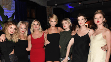 Spotted at TIFF 2018: Matthew McConaughey and Timothée Chalamet hug it out and Cara Delevingne and Ashley Benson hit the party circuit