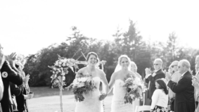 Team Canada hockey player Gillian Apps and Team USA player Meghan Duggan got married last weekend