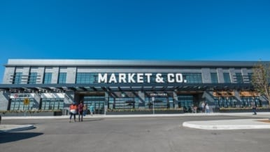 Inside Market & Co., a new 40,000-square-foot food hall inside Upper Canada