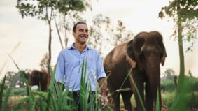 An extremely rare coffee is on the menu at The Ritz-Carlton, thanks to a herd of Thai elephants