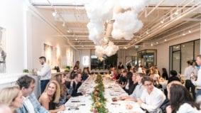 Here's what went down at Eatertainment and The Stop's six-course benefit dinner