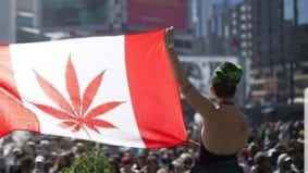 Highlights from legalization day in Toronto