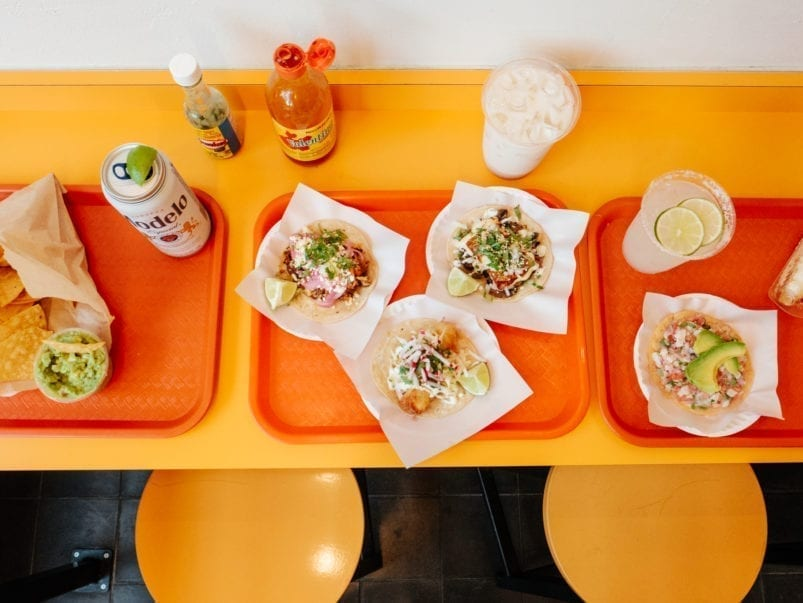 What's on the menu at Grand Electric Taqueria, the new taco joint across from Trinity Bellwoods