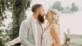 Real Weddings: Inside a lakeside family affair