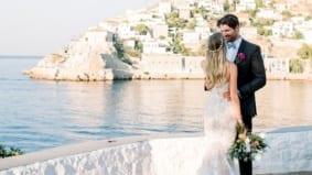 Real Weddings: Inside restaurateur Andreas Antoniou's three-day seaside celebration in Greece