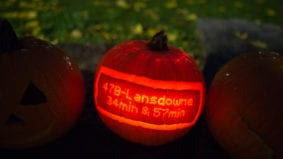 The best and most frightening jack-o'-lanterns we saw this year