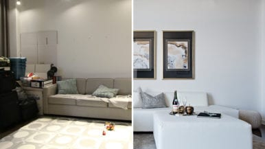 How a stager remade a Liberty Village loft