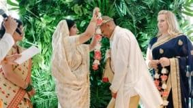Real Weddings: Inside a two-ceremony Hindu-Catholic celebration