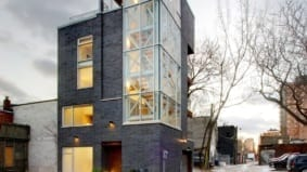 Rental of the Week: $5,000 per month to live in a house lined with the skin of a famous skyscraper