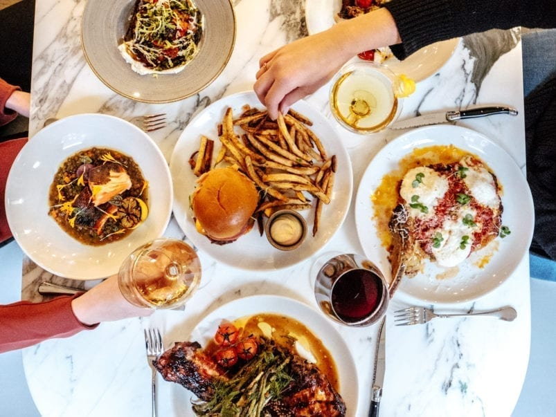 What's on the menu at MARBL, a new restaurant and lounge in the former Fring's space