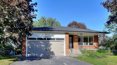 How a stager totally transformed an aging Newmarket bungalow