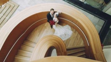 Real Weddings: Inside a crimson wedding at the AGO