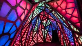 A look inside the Distillery District's kaleidoscopic light festival