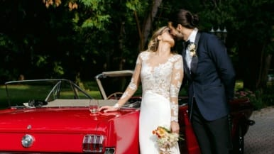 Real Weddings: Inside an eclectic Serbian celebration at Piano Piano