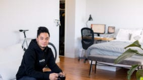How a 34-year-old digital producer lives in 430 square feet