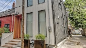 House of the Week: $2.8 million for a modern laneway house near Trinity Bellwoods Park