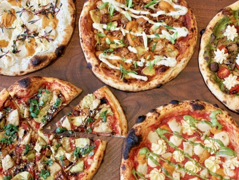 What's on the menu at Away Kitchen and Café, a new plant-based pizza parlour on Queen West