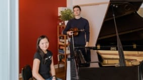Live-work spaces: Inside the super-functional condo of a pair of professional musicians