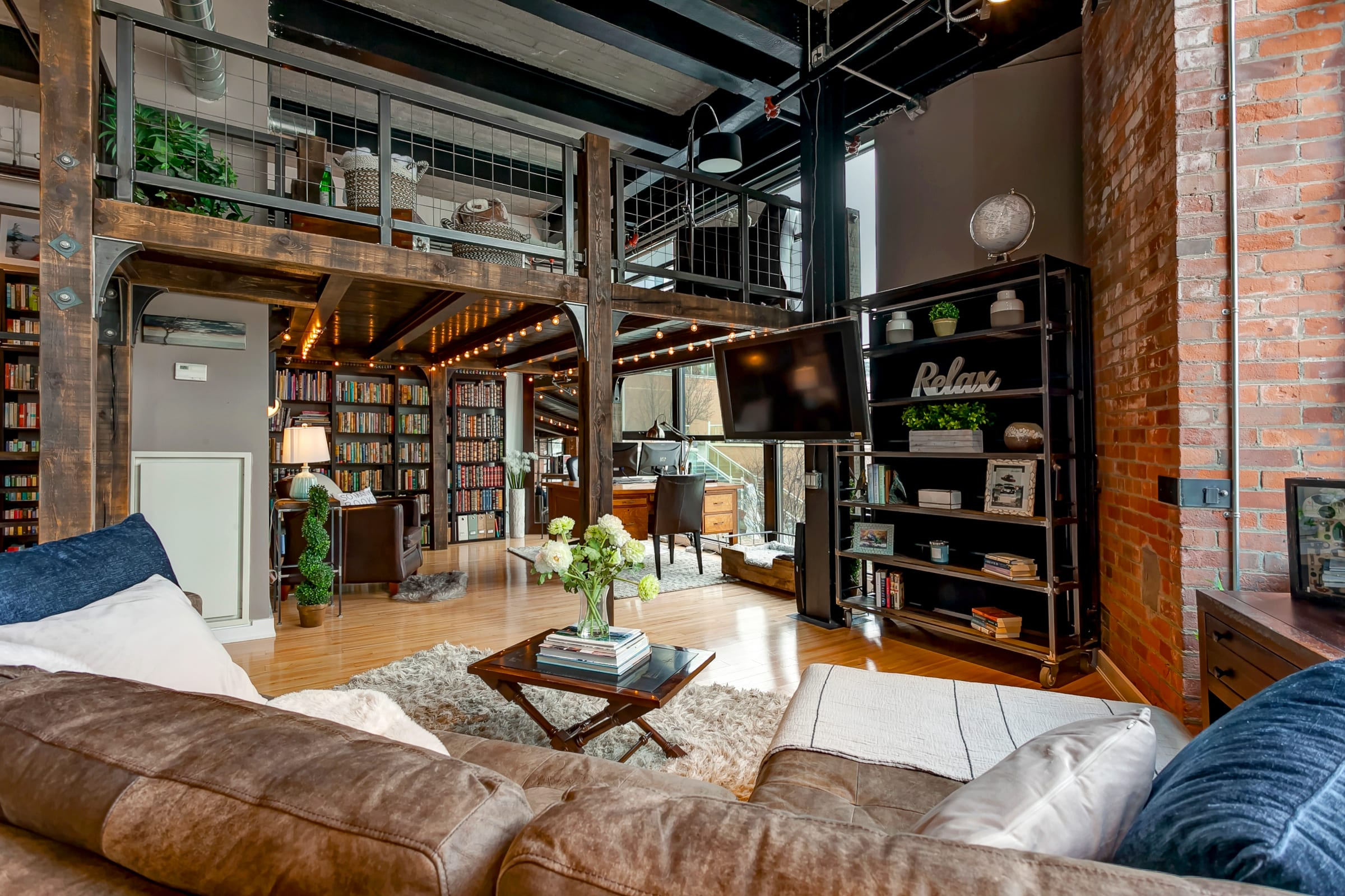 1 8 Million For A Brick And Steel Loft In Liberty Village
