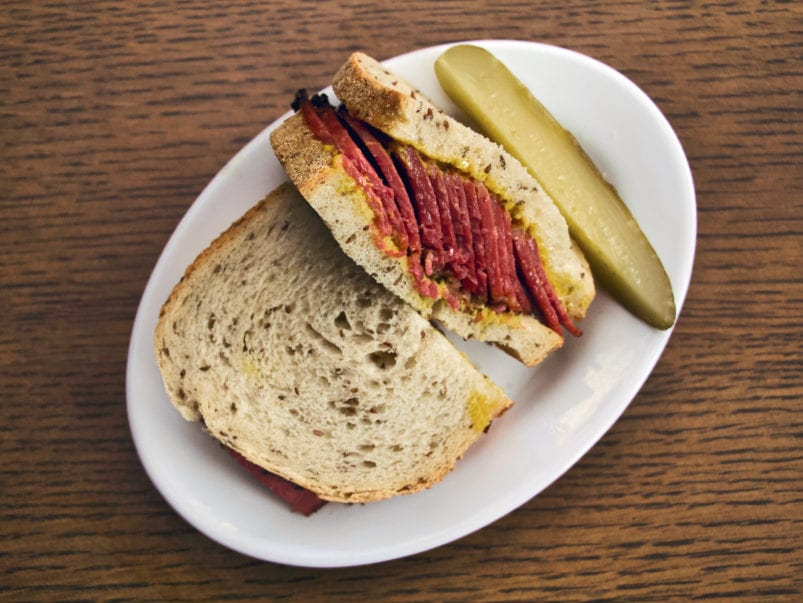 Here's how much it actually costs to make the pastrami sandwich at Rose and Sons Deli