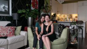 How a mother and daughter live in 729 square feet
