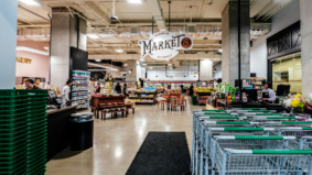 Inside Market 63, downtown's new 20,000-square-foot supermarket with its own restaurant and poutine bar
